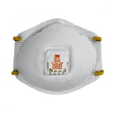 Respirador 8511 N95 P/par C/va