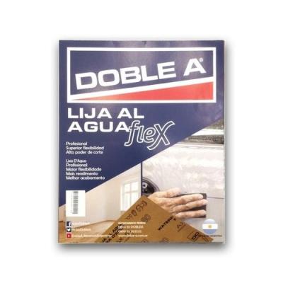 Lija Al Agua Doble A #60