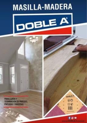 Lija Pared/madera Doble A C40