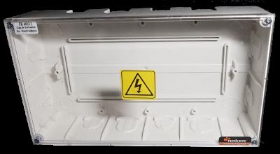 Caja Pase 266x147x60 T/transp