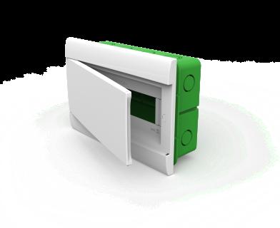 Caja Embutir P/12 Mod Pta Bca