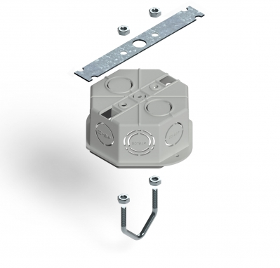 Kit Soporte P/caja Octogonal