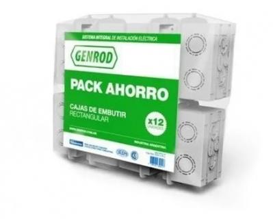 Pack Ahorro Cajas Embutir Rect