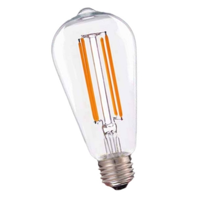 Lamp St64 Filamento Led Lc 8w