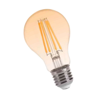 Fil Led A60 8w E27 Golden