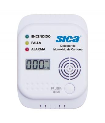 Detector Co A Pilas C/display