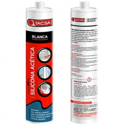 Silicona Acetica 280ml Bca