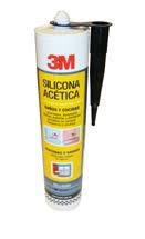Silicona 3m Acetica Bca 280ml