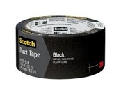 Cinta 3m Ducto Negro 48x9mts