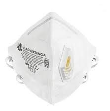 Respirador 9822 N95 Valvulado