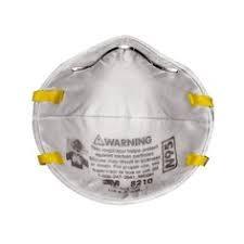 Respirador 8210 P/particulas