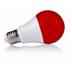 Lampara A60 3w E27 Rojo