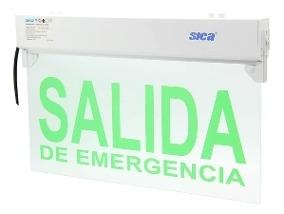Cartel Sica Salida Emergencia