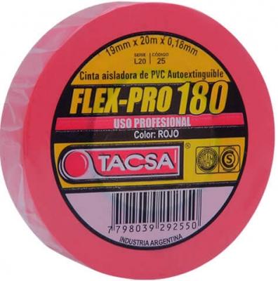 Cinta Flexpro X20mts Rja Tacsa